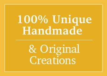 100% handmade sign